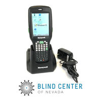 Honeywell Dolphin 6500 6500EP11211E0H Mobile 2D Barcode Scanner PDA + Cradle