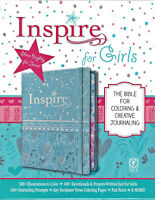 NEW Inspire for Girls Journaling Bible New Living Translation NLT Coloring Pages