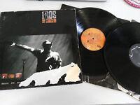 "EROS RAMAZZOTTI IN CONCERT 2 LP 12"" VINYL 1991 ORIGINAL SPANISH  PRESS G+/VG"