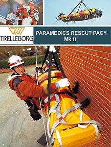 Trelleborg Paramedics Rescue Pac MK II Stretcher Lifting Paramedic Helicopter