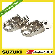 REPOSE CALE PIED EVO SUZUKI RMZ 250 RMZ 450 2010-2018  TITANE SCAR
