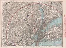 1920s Japan-American Enterprise New York City investment map