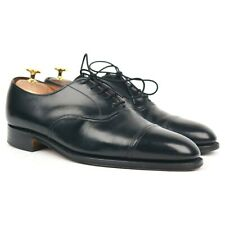 Cheaney Black Leather Oxford UK 8 F