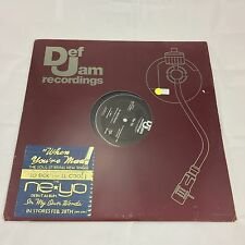 Neyo So Sick/when You're Mad  Rare Vinyl Record LP