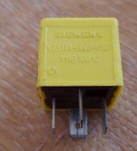 RANGE ROVER P38 MG & LDV Yellow Relay YWB10012 Siemens, Tyco V23134-B52-X127