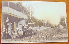 1908 Street in Wailuku Maui Hawaii Horse & Buggy Hilo Drug #45 Paia Cancel