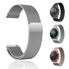 For Samsung Galaxy Watch 3 41mm 45mm Magnetic Milanese Loop Strap Wrist Band