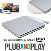 USB 3.0 External Slot in Load CD DVD RW Optical Drive Burner For Laptop PC GS5