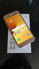 Samsung A3 2017, Smartphone, (Unlocked), Gold