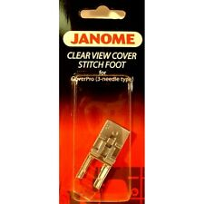 Janome CoverPro Clear View Cover Stitch Foot - 3 Needle 1000CPX, 1000CP, 200CPX