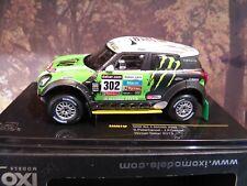 1/43 IXO Mini  Monster, Rallye Dakar, / J.P.Cottret 2013