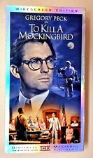 To Kill A Mockingbird 1998 VHS Widescreen Playtested Gregory Peck Robert Duvall