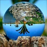 40-120mm K5 Crystal Clear Photography Lens Ball Photo Background Prop Home Decor