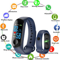 M30S Blood Pressure Heart Rate Pedometer Fitness Smart Watch Wrist Band Bracelet