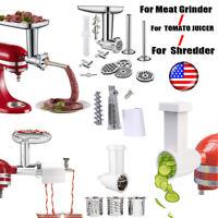 Meat Grinder Attachment For KitchenAid Stand Mixer/Tomato Juicer/Slicer Shredder