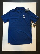 Nike Men s Indianapolis Colts Early Season Polo Shirt Size M fdaf6dbff