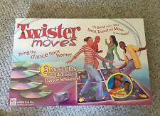 Milton Bradley Twister Moves Game 2003 w/ Aaron Carter Remix