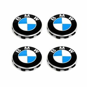 BMW Wheel Center Caps (4pcs) USA DELIVERY (NEW)