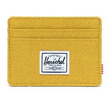 Herschel Supply Charlie RFID Wallet Arrowwood Crosshatch  -  Rare Retired Color