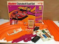 Rare Vintage 1970 Hot Wheels Sizzlers Redline Daredevil Duel Set Complete In Box
