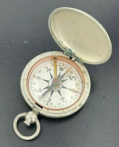 Vintage WWII US Army Corp Engineer USCE Taylor Military Field Pocket Compass
