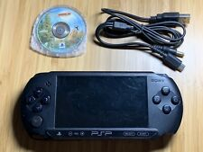 Sony PSP Street Playstation Portable PSP-E1002 Black Handheld Game Console