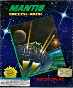 """SEALED~PC MANTIS Experimental Fighter Speech Pack 3.5/5.25"""" Disks MICROPLAY"""