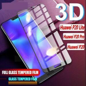 Huawei P20 Lite Pro echte volle 3D geh?rtetes Glas 9H Displayschutzfolie LD