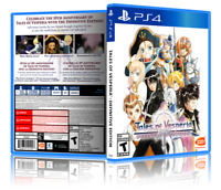 Tales of Vesperia - Definitive Edition - ReplacementPS4 Cover & Case. NO GAME!!