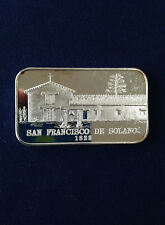 1976 Eldorado Mint San Francisco De Solano EDM-12 Silver Art Bar P0554