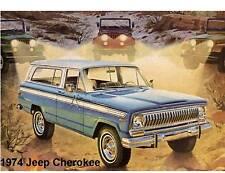 1974 Jeep Cherokee  Auto Refrigerator / Tool Box Magnet