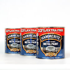 Hammerite 5158234 Metal Paint, 750ml - Smooth Silver