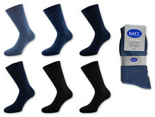 6 hasta 42 X PAR CALCETINES DE HOMBRE 100% Algodón Vaqueros Azul Negro Vestir