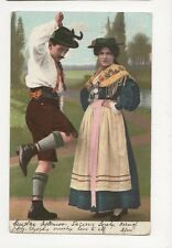 Switzerland Ethnic Types 1906 Postcard  245a