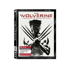 Target Exclusive The Wolverine Blu-ray 3D DVD 4-Disc Unleashed Extended Edition