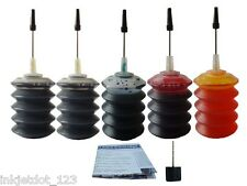Refill ink Kit for Canon PG-210XL CL-211 MX320 MX330 MP250 MP480 MP490 5x30ML