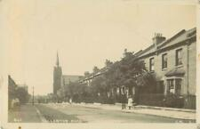 RP WANDSWORTH FULLERTON RD STREET SCENE LONDON  C.M REAL PHOTO POSTED 1907