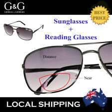 Tinted Reading Glasses Magnifying Bifocal Sunglasses Men Women Outdoor