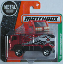 Matchbox - Desert Thunder V16 Rallye-Truck rotmet. Neu/OVP Verpackungsvariante