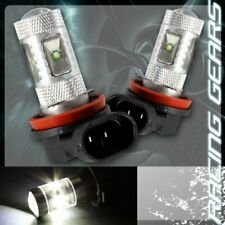2x For Nissan Toyota H11 White 6 LED Projector Low Beam Fog Lights Lamps Bulbs