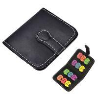 Guitar Pick Bag Holder Pack Black Guitar Accessories  BE