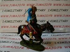 JC2A CAVALIER de plomb DEL PRADO 1/32 : EMPIRE Hussard d'Esterhazy 1756