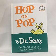 Beginner Books: Hop on Pop by Dr. Seuss Printed HC Illust Free Shipping