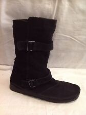 Atmosphere Black Ankle Suede Boots Size 7