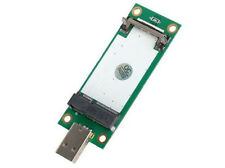 New 3G WWAN Wireless TV FM Mini PCI-e to USB Adapter card with sim slot