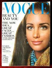 Vogue Magazine ~ October 1, 1968 ~ Windsor Elliott Samantha Jones Richard Avedon