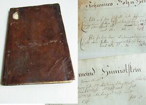 Handwriting Um 1830: Flurbuch Hunolstein (Morbach), Unicum