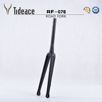 15mm Disc Brake Tapered Cycling Road Bicycle Front Fork T800 Carbon Fiber OEM