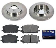 Rear Ceramic Brake Pad Set & Rotor Kit for 2003-2005 Lincoln Aviator