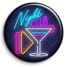 Night Club 2 Boite de nuit néon étoile party dance Badge Epingle 38mm Button Pin